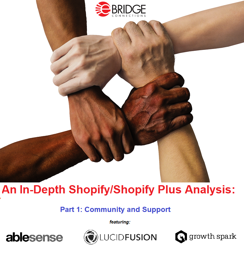 An in-depth analysis of Shopify/Shopify Plus through the eyes of AbleSense, Lucid Fusion, and Growth Spark. Part 1: The Shopify Community and experiences with Shopify support