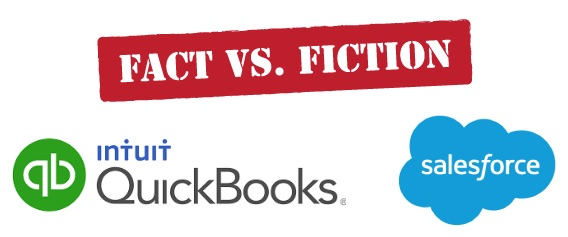 Fact or Fiction? Recognising the truth when it comes to QuickBooks and Salesforce integrations