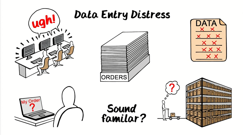 Hey eCommerce and EDI folks.  Is data entry getting you down?
