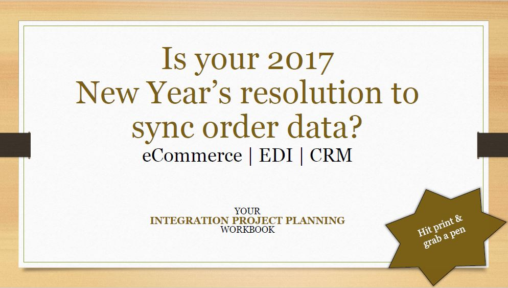 Start 2017 off on the right foot with our free integration project planning workbook