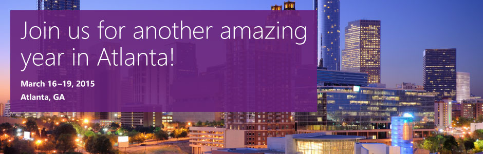 MEET US AT MICROSOFT CONVERGENCE 2015!
