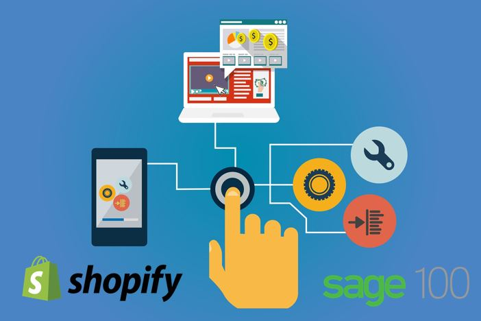 Shopify and Sage 100 ERP Integration Makes Life Easier For Busy Online Retailers