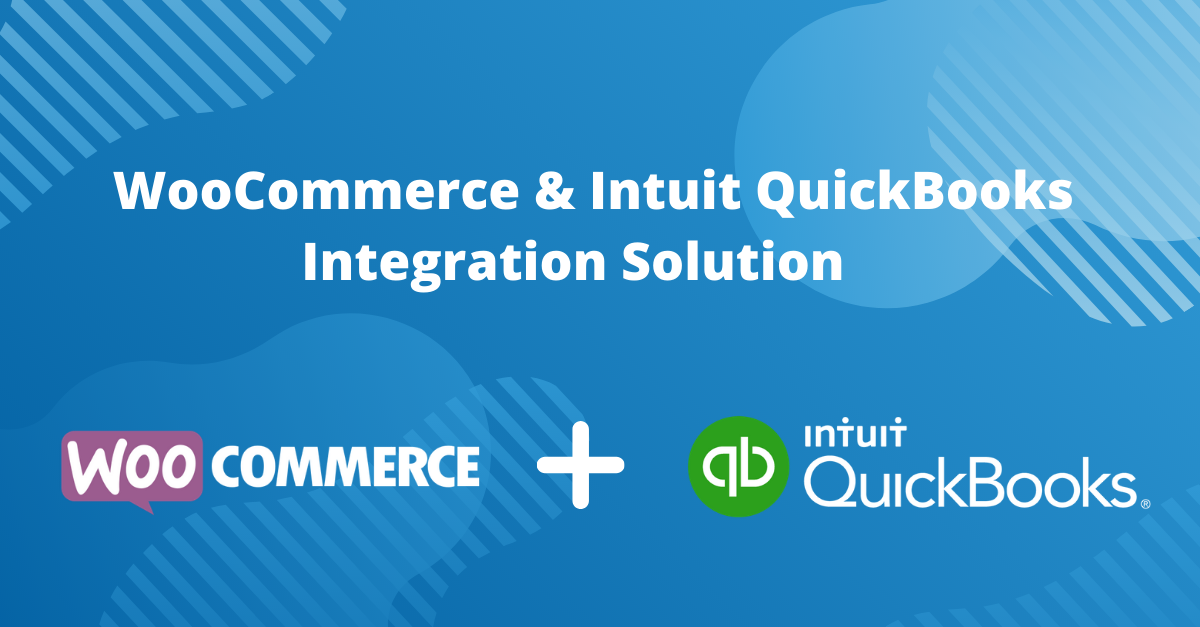 WooCommerce & Intuit QuickBooks Integration Solution