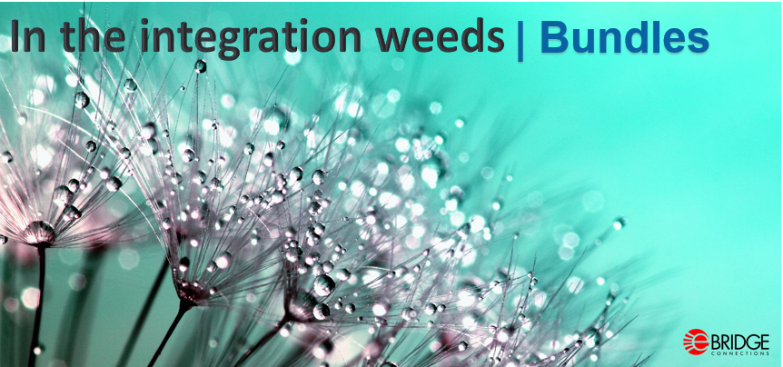 In the integration weeds | Bundles