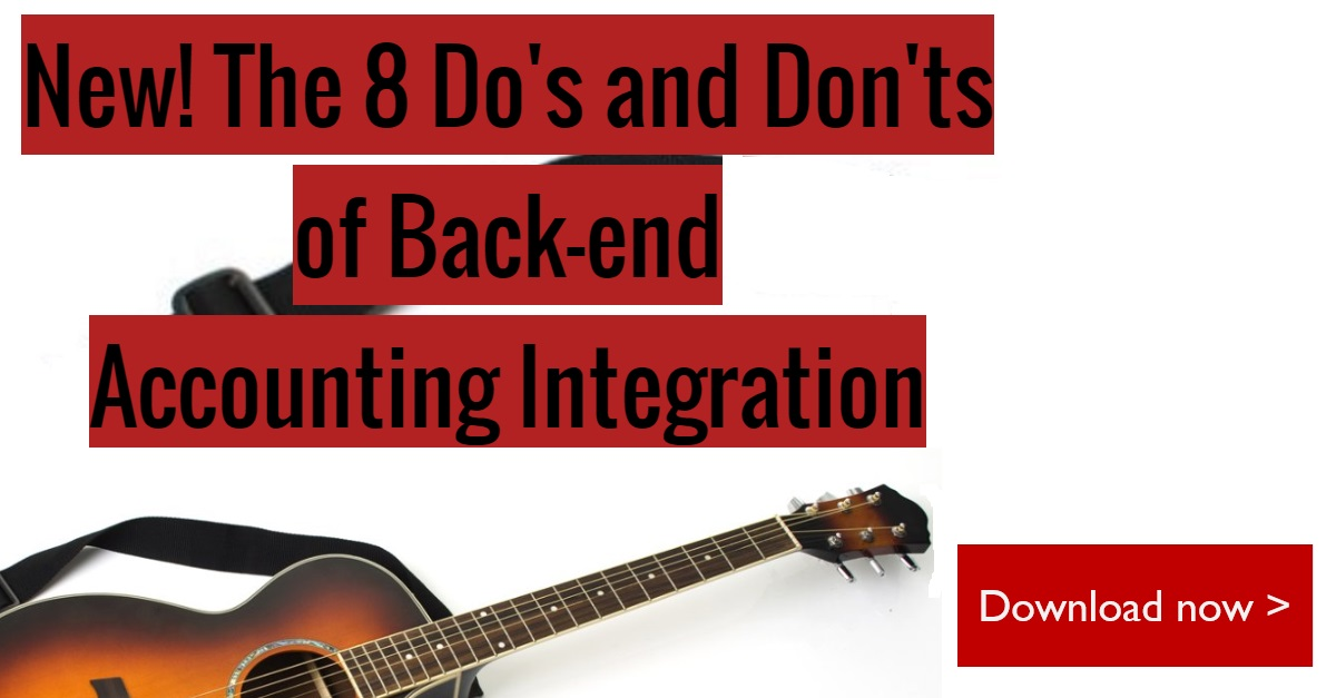 The 8 Do's and Don'ts of Back-end Accounting Integration