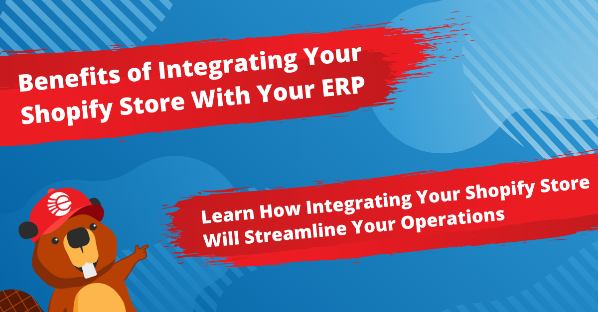 Benefits of Integrating Your Shopify Store With Your ERP